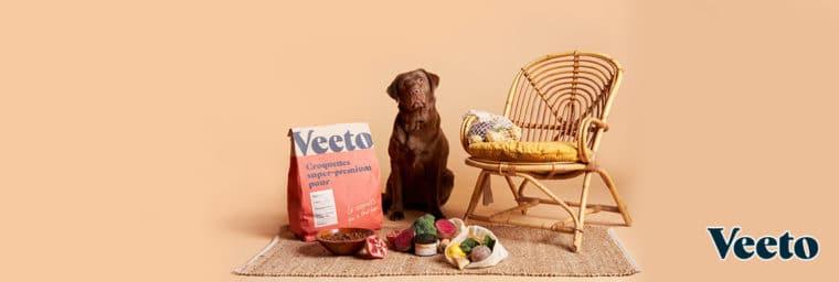 Veeto_abonnement croquette chien