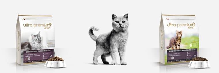 croquette pour chat sans céréales Ultra premium Direct
