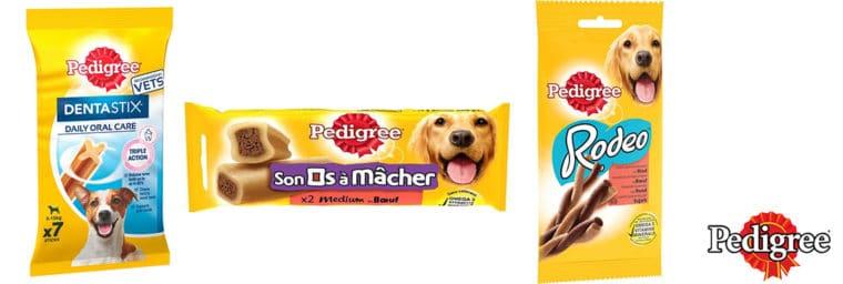 friandise Pedigree pour chien